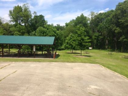 Equestrian campground at Morrison-Rockwood State Park